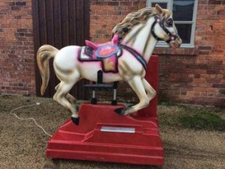 coin operated mechanical horse